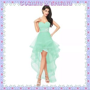 Dresses & Skirts - 🆕✨MINT High Low Glam Sweetheart Dress✨SELECT SIZE